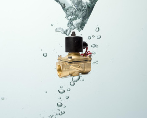 Brass Electric Solenoid Water Valve