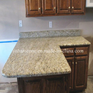 Giallo Ornamental Granite Countertop / Island Top for Kitchen