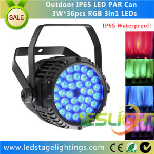Waterproof LED PAR Can 36PCS*3W RGB Edison LEDs for LED Disco Light pictures & photos