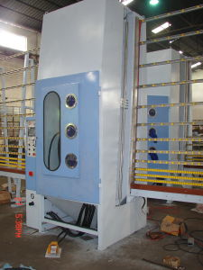 Automatic Glass Sandblasting Machine (HPS2000P) pictures & photos