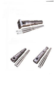Conical Twin Screw for Extruder pictures & photos