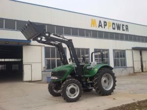 100HP Agricultural Farmming Tractor with Rops pictures & photos