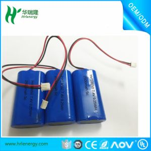 (2S1P) 3.7V 2500mAh 18650 Battery Pack pictures & photos