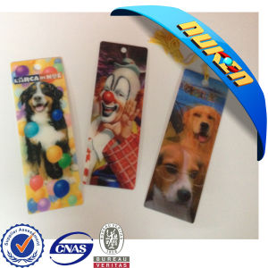 Customized Lenticular Bookmark Printing pictures & photos