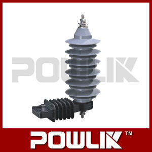 18kv Metal Oxide No-Gap Composite Surge Arrester pictures & photos