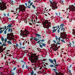 Printed Voile Made of 100%Cotton for Apparels with Flower (60X60/90X88)
