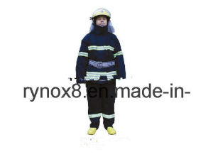 Reflective Safety Coverall for Fire-Fighting