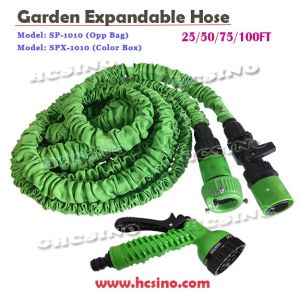 Shrinking Garden Water Hose with Free Spray Nozzle Gun