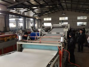 Plastic Sheet Extruder PVC Sheet/Plate/Board Extrusion Line pictures & photos