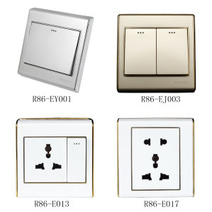 Wall Switch and Socket (R86-E Series) pictures & photos