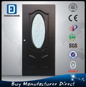 Fangda Interior Wood Bedroom Metal Steel Door pictures & photos