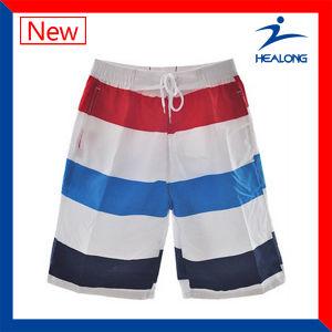 Healong Quick Dry Sports Gear Dye Sublimation Men′s Beach Shorts pictures & photos