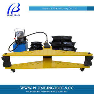 """4"""" High Quality Manual Hydraulic Pipe Bender (DWG-4B) pictures & photos"""