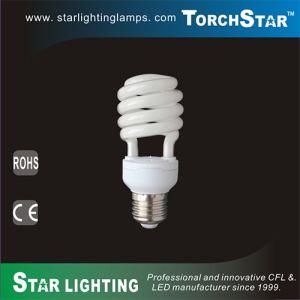 High Efficiency Tri-Phosphor PBT Half Spiral Energy Saving CFL pictures & photos