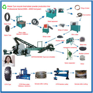 Xkp450 Cracker Rubber Crusher Machine for Rubber Recycling pictures & photos