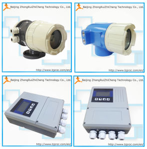 Hart Protocot 4-20mA Electromagnetic Flowmeter Convertor pictures & photos