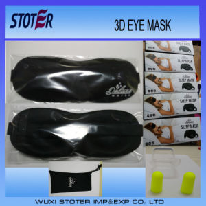 2015 Wholesale New Style High Quality 3D Funny Cotton Sleeping Customize Eye Mask