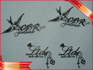 Silicone Heat Transfer Label PVC Printing Iron on Label pictures & photos