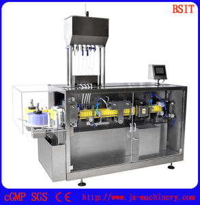 Pesticide Plastic Pet/PE Bottle Forming and Filling and Sealing Machine pictures & photos