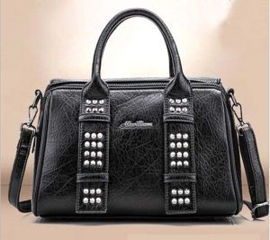 Leisure Fashion Bag Boston Big Leather Designer Handbag (XP1804) pictures & photos