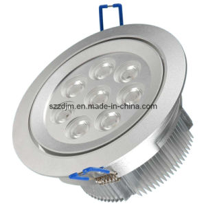 8x1 Watt LED Ceiling Light - 600 Lumens - Transformer and Fitting Included - 3 X Colour Options Chrome, Silver & White)