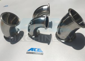 Stainless Steel Sanitary Pipe Fittings Elbow with Weld Ends (ACE-WT-8D) pictures & photos