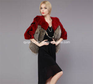2014 Winter High-End Rex Rabbit Fur Coat (Qy-C01) pictures & photos
