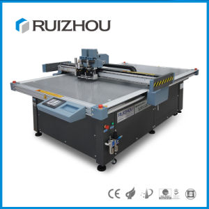 Ruizhou Oscillating Knife Carton Pattern Sample Cutter pictures & photos
