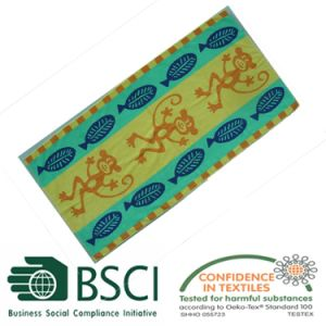 Elegant Pattern Cotton Beach Towel