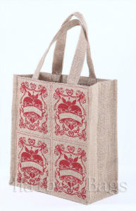 Jute Tote Bags (hbjh-28) pictures & photos