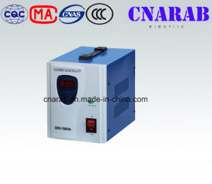 Der High Precision Stabilizer, Servo Motor Stabilizer, Automatic Voltage Stabilizer Household 1500va. pictures & photos