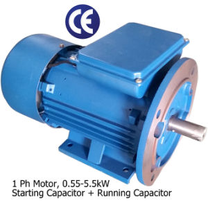 5 HP 2840rpm 112 Frame 230 Volts Single Phase Air Compressor Motor