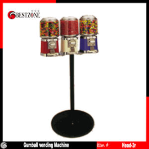 Mini Candy Gumball Machine Head-3r pictures & photos