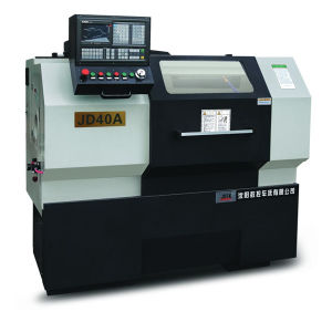 Good Quality CNC Lathe with Hydraulic Chuck Jd40A pictures & photos