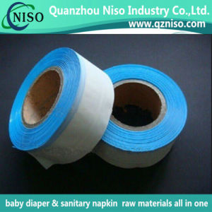 High Quality High GSM Adhesive Side Tape for Baby Diaper with SGS Certification pictures & photos