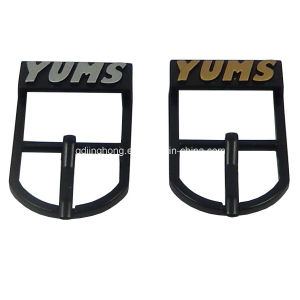 Yums Pin Buckle in Matt Black Color pictures & photos