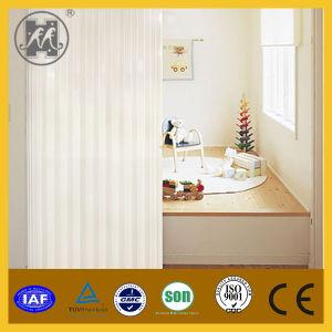 High Quality White PVC Profile Plastic Sliding Folding Doors pictures & photos