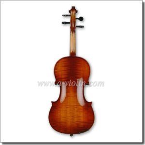 Middle Grade Flamed Professional Viola with Case (LM140) pictures & photos