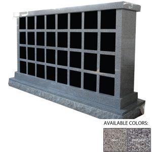 Polished Finish Granite 32 Niche Columbarium pictures & photos