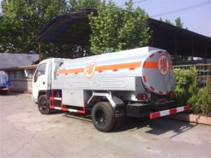 4X2 4.5m3 Forland Oil Truck/Fuel Tanker Truck (ZLQ5063GJY) pictures & photos