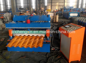 Colored Glazed Steel Roll Forming Machine pictures & photos