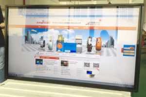 Advertising LCD Display Wall Mounted 65 Inch Touch Screen Kiosk pictures & photos