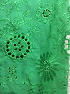 for Ladies Embroidery Lace / Cotton Fabric/Good Qualily/ Best Price pictures & photos