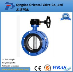 Full Flanged Type Price Butterfly Valve Butterfly Valve Gear Operator pictures & photos