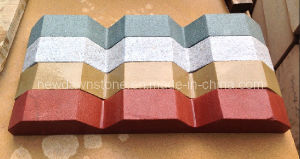 Yellow / White/ Green/Red Sandstone for Lines and Decorate