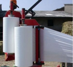 Best White 500mm Bale Wrap Film for Middle Sized Baler pictures & photos
