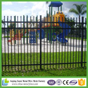 Chain Factory Powder Coated Cheap Steel Fence pictures & photos