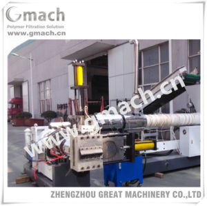 Hydraulic Screen Changer for Plastic Pellets Making Extrusion Machine pictures & photos