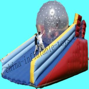 Zorbing Ramp, Inflatable Slide for Kid