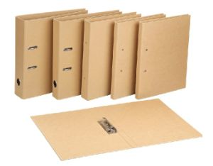 PP Covering Spine Label Pocket Printed Paper Lever Arch File pictures & photos